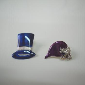 Hats Stud Earrings